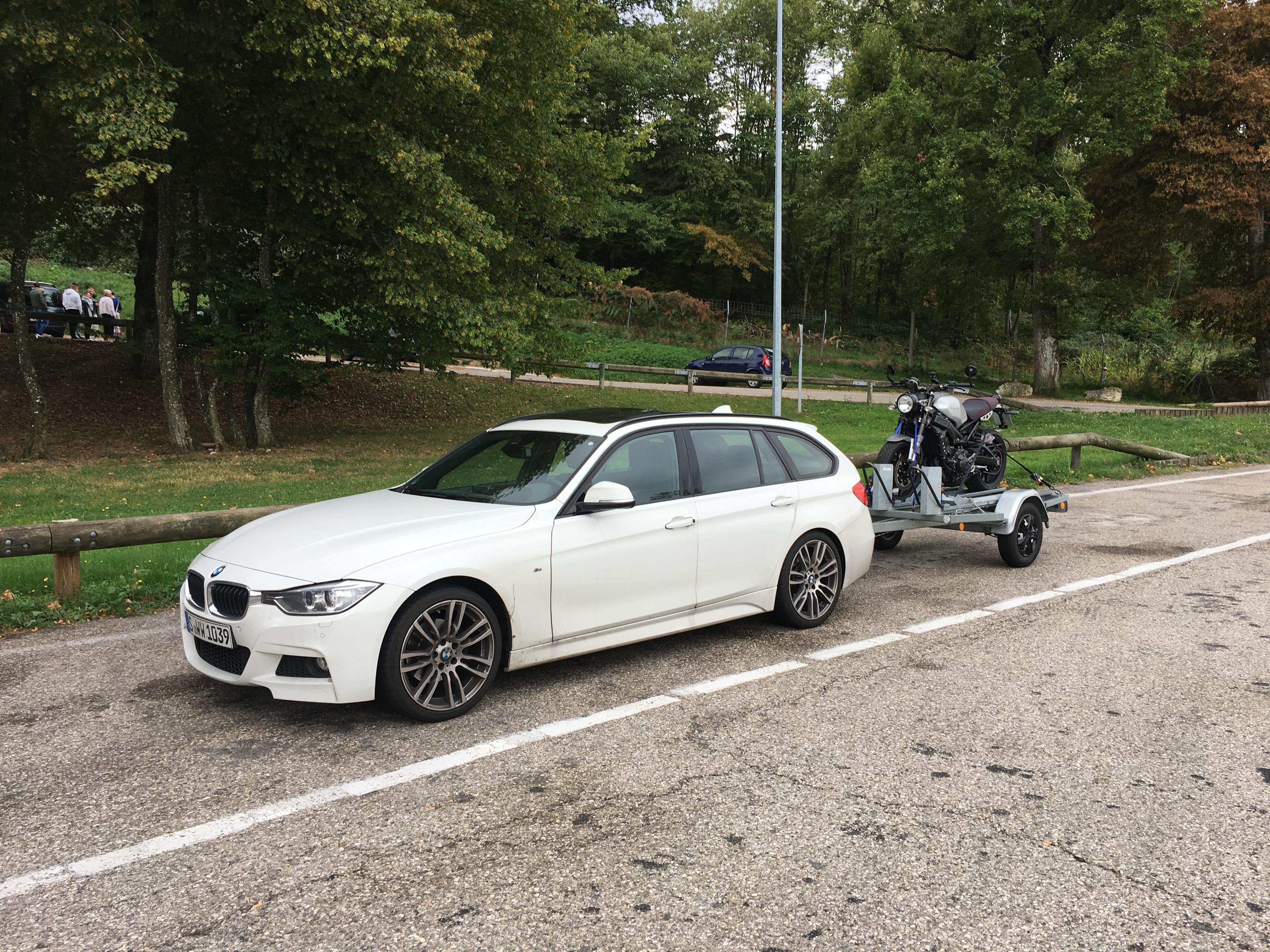BMW und die neue XSR 900 nach der Erstinspektion